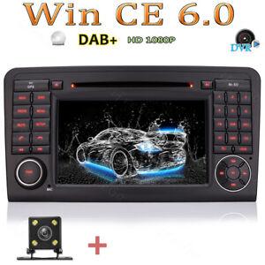 """Rûckfahrkamera+ 7"""" HD AUTORADIO GPS NAVI CD Für BENZ ML/GL W164 X164 GL320 ML350"""