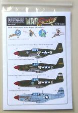 1/72 P51B Ill Wind, Rebel Queen Miss Dallas Parts War Birds Decal WWII Aircraft