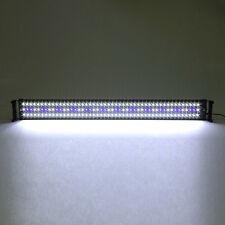 Lampe Éclairage Pour Poisson Aquarium 144 LED Bleu + blanc 95cm et 115cm Clip