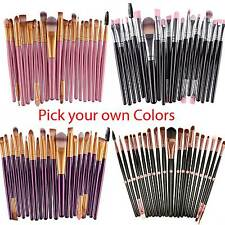 20pcs Makeup BRUSHES Kit Set Powder Foundation Eyeshadow Eyeliner Lip Brush