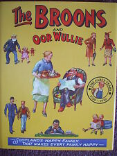 THE BROONS / OOR WULLIE ANNUAL  THE EARLY YEARS 1ST HB DJ  VGC 2006