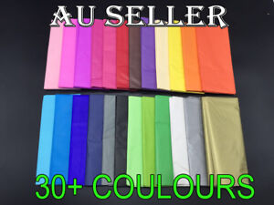 Bulk 10-250 sheets Tissue Paper Gift Wrap Wrapping Craft Paper Gold Silver L