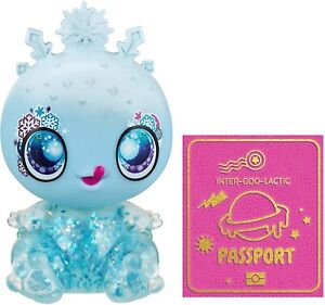"Goo Goo Galaxy Snow Glow Goo Drop Doll, 5.5"" Small Doll Squishy Body *Series 2*"