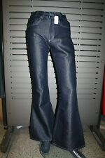 Gang Jeans Ladies Dark Blue Rinse Flared New 1024-24 Vintage 90er