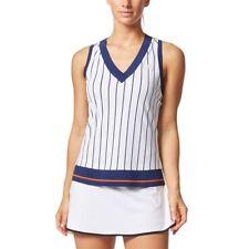 adidas Women's Pharrell Williams Tennis Striped Tank Size Medium