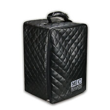 """Milano Collection Premium Large Pro Wig Collapsible Case Box 19"""" Tall in Black"""