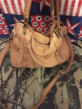 Rebecca Minkoff Morning After Bag MAB Soft Leather Satchel Purse Crossbody Tan