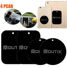4PCS Metal Plates Iron Sheet For Magnetic Car Mount Phone Holder w/ 3M Adhesive