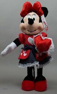 Valentine's Disney 24 in Tall Minnie Mouse Greeter with Valentine's Denim Dress