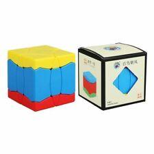 Sengso Irregular Stickerless Colorful Magic Cube Puzzle Pro Speed Cube Twist Toy