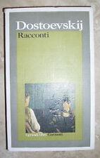 DOSTOEVSKIJ - RACCONTI - 1ED. 1988 GARZANTI (DA)