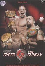 WWE Cyber Sunday 2006 DVD WWE Wrestling