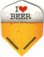 """I Love Beer"" Dart Flights: 3 per set"