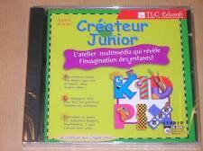 CD-ROM PC ET MAC / KID PIX, CREATEUR JUNIOR  / NEUF SOUS CELLO