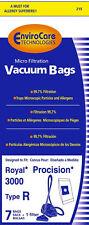 Royal Type R Vacuum Bags - Generic - 7 bags + 1 filter
