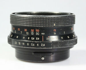 Carl Zeiss Biometar 80mm / 1:2.8 MC für Pentacon SixTL, defekt für Bastler