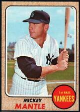 1968 Topps Baseball - Pick A Card - Cards 276-598