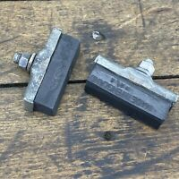 Vintage England BRAKE PADS (2) Bicycle Raleigh 3spd