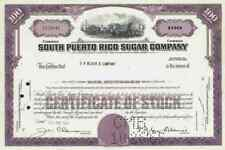 South Puerto Rico Sugar Company 1963 New Jersey Central Guánica cioè Blair COMP.