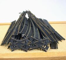 Atlas Train Track Assorted Lot Of 46 Railroad Switch Curve Straight HO Scale