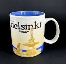 Starbucks Coffee Global Icon City Collector Series HELSINKI Mug Cup Finland 16oz
