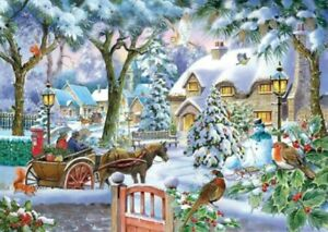 House of Puzzles HOP Almost Home Big 500 XL Piece Jigsaw Puzzle New Sealed MC496