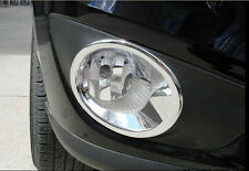 Chrome Front Fog Light Fog Lamp Cover For Hyundai Santa Fe 2010 2011