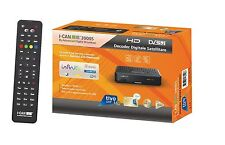 Decoder ADB i-CAN Tivùsat 3900S HD/COMPRESA SCHEDA TV SAT GOLD..