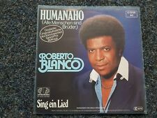 Roberto Blanco - Humanaho 7'' Single EUROVISION SUNG IN GERMAN
