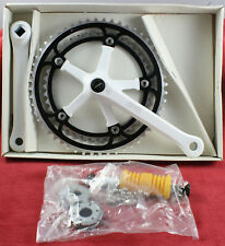 Vintage Crankset Miche Leader 170mm 42x53t & Bottom Bracket. NIB