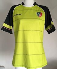 LEICESTER TIGERS 2016/17 S/S AWAY JERSEY NO SPONSOR BY KOOGA SIZE ADULTS 4XL NEW