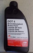 Febi Liquido Freni 1L DOT4 Ford Fiat Renault Opel BMW Audi VW Mercedes Toyota