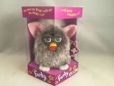 First Run Gray Owl Furby with Pink Ears Model # 70-800 Absolutely Mint!