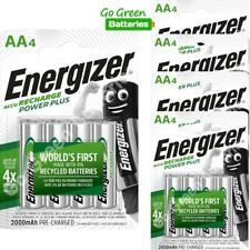 20 x Energizer AA 2000 mAh Rechargeable Power Plus Batteries NiMH HR6 MN1500 RTU