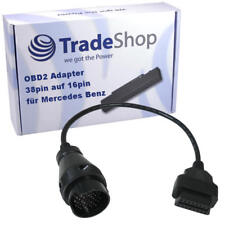 OBD2 16Pin Diagnose Adapter Verbdindung 38Pin für Mercedes Benz W202 W203 W204