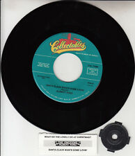 "EMOTIONS  Santa Claus Wants Some Lovin' & ALBERT KING CHRISTMAS 7"" 45 rpm record"