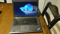"Lenovo ThinkPad T440s 14"" 2.5Ghz i5-4300U 8GB RAM 500GB Win10 Pro WebCam PC"