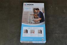 HAYSFIELD MOEN MOTION SENSE PULL DOWN STAINLESS KITCHEN SINK FAUCET 87350ESRS