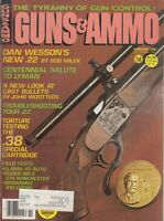 Guns & Ammo Magazine February 1980 Dan Wesson New .22 Lyman Cover
