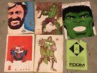 Lot 1973 FOOM Friends of ol Marvel #1 #4 Hulk envelope Lee & Steranko