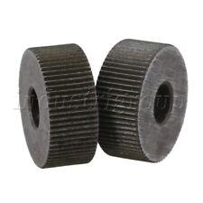2Pcs Steel Single Straight Linear Wheel Knurling Linear Knurl Wheel Replacement
