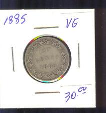 1885 Newfoundland 20 Cents VG A522