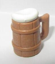 PLAYMOBIL Chope  Bière  Mouse moyen age taverne  NEUF