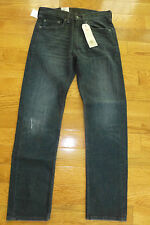 Levis 505 Regular Fit Straight Leg Jeans 30 - 58  NEW Black Indigo Blue