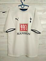 Tottenham Hotspur Jersey 2006 2007 Home M Shirt Mens White Football Soccer Puma