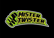 Mr Twister lures decals stickers bass boat tournament sponsor fishing baits lure