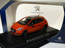 1 43 Norev Peugeot 208 Mie-vie 5p 2015 Lightred