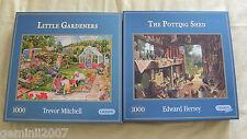 Jardin Puzzles petits jardiniers & le terreau Shed - 2 x 1000 scies sauteuses complet