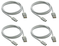 """4Pcs 2M 6Ft Usb 3.1 Usb Type """"C"""" Braided Data & Fast Charging Cable S8 S9 4x Lot"""