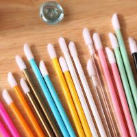 50pcs NEW Disposable Cosmetic Makeup Brushes Lip Brush Lipstick Wands Applicator